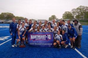 2009 NE-10 Women's Lacrosse Champs