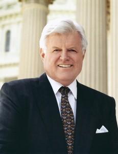 Former senator Ted Kennedy