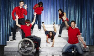 Cast from the anticipated hit Fox show, Glee