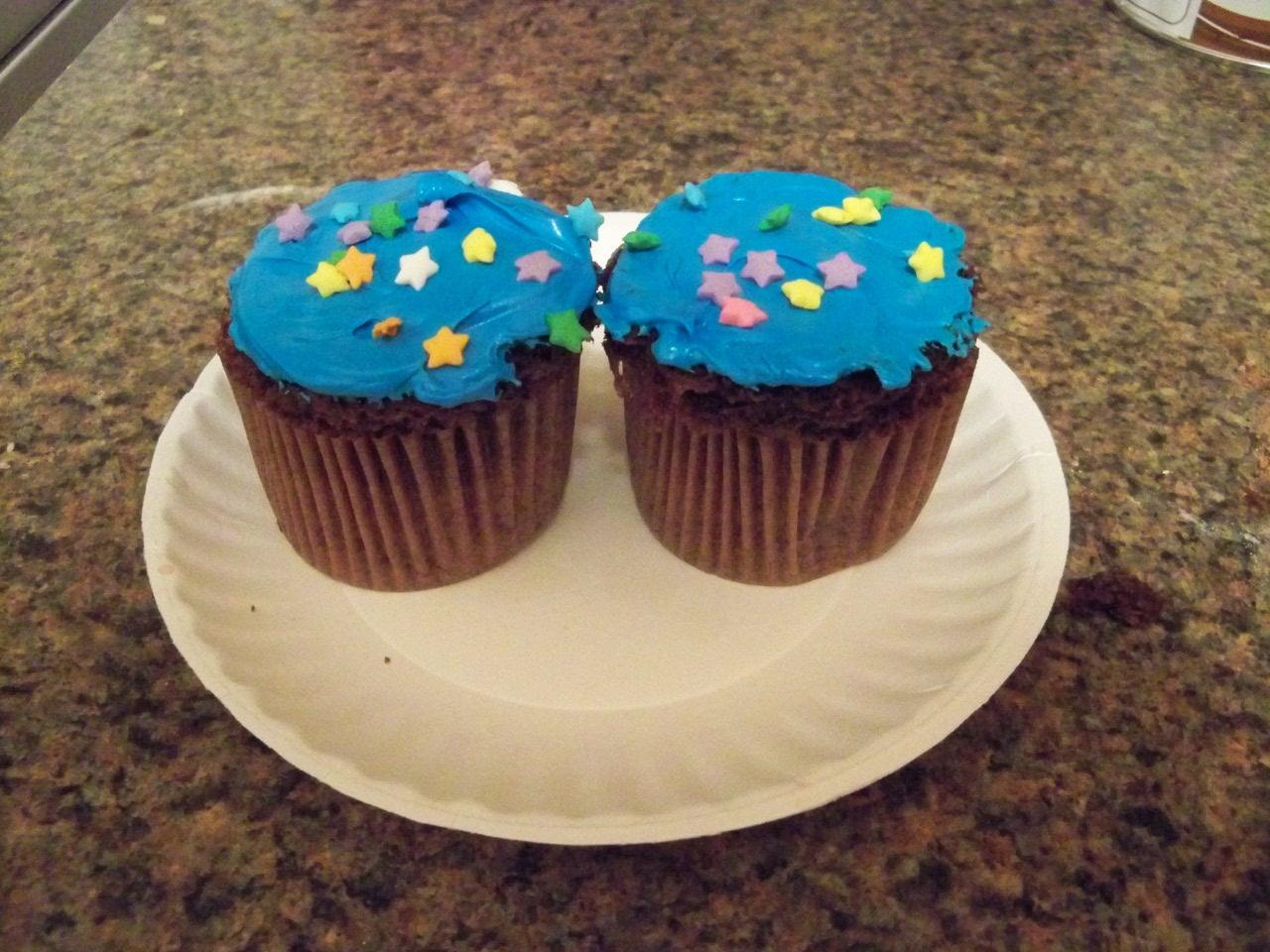 Microwave cupcakes made in minutes!