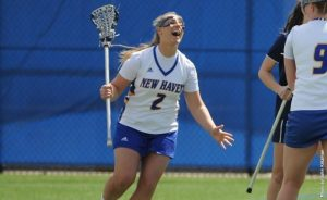 Women's Lacrosse Player/ Charger Athletics Photo