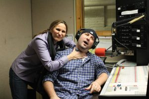 Co-Hosts of Psych Word at WNHU/ Photo by Erica Naugle