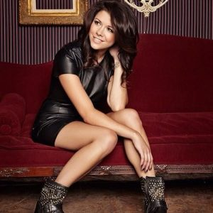 Tay Jardine, singer from We Are the In Crowd (Facebook photo)