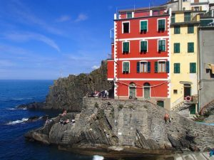 Riomaggiore, one of the little towns that makes up Cinque Terre (Samantha Higgins/Charger Bulletin Photo)