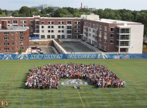 Photo taken of the class of 2015 on Kayo Field during Welcome Week 2011 (OSA Photo)