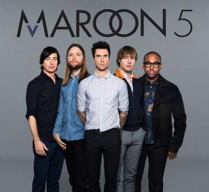 Maroon 5 (Photo obtained via Facebook)