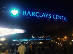 The Barclays Center in Brooklyn, Ny (Photo by Elissa Sanci/Charger Bulletin)