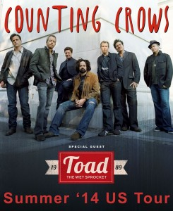 Counting Crows (Photo obtained via Facebook)