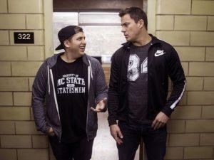 Jonah Hill and Channing Tatum in 22 Jump Street (AP photo)