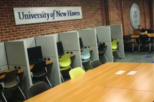 After of library renovations  (Photos by Dean Bergstrom)