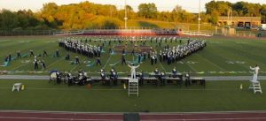 UNH marching band (Photo provided by Sheehan High School)