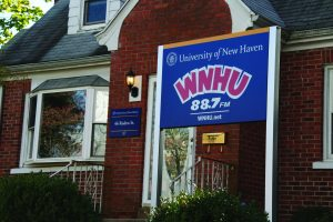 WNHU's new home (Photo by Elissa Sanci/Charger Bulletin photo)