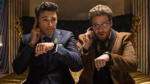 James Franco and Seth Rogan star in The Interview, a comedy worth seeing over break (AP photo)