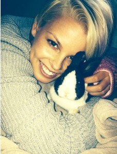 Who doesn't want a bunny? (Photo provided by Courtney Brooks)