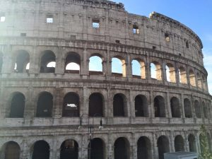 Prato students traveled to Rome and visited the Colosseum  (Photo by Cassidy Robishaw/Charger Bulletin photo)