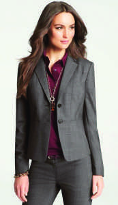 The professional-looking pantsuit (Photo obtained via Pinterest)