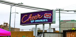 The showcase took place at Cheer Up Charlies on Red River Street in Austin, Texas (Photo by Kyle Woodworth/Charger Bulletin photo)