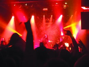 Ashley went to see Motionless in White in New York City (Photo by Ashley Winward)