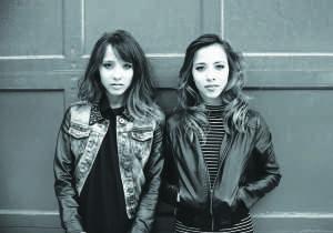 Nalani and Sarina will be performing on March 25 in New York (Photo provided by Nalani and Sarina)
