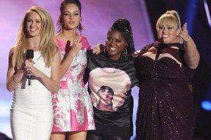 The cast of Pitch Perfect 2 (AP photo)