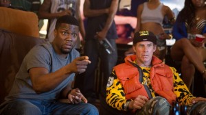 Kevin Hart and Will Farrell don't deliver the comedy audiences are used to (AP photo)