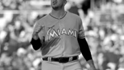 National League pitcher Jose Fernandez, of the Miami Marlins, tosses the ball during the second inning of the MLB baseball All-Star Game, Tuesday, July 12, 2016, in San Diego. (AP Photo/Gregory Bull)