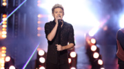 Niall Horan of One Direction performs at the American Music Awards at the Microsoft Theater on Sunday, Nov. 22, 2015, in Los Angeles. (Photo by Matt Sayles/Invision/AP)