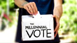 Millennials -- Vote!