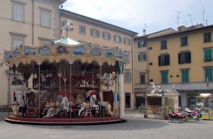 Carousel by the Duomo (Samantha Higgins/Charger Bulletin Photo)