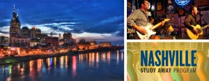 Nashville, Tenn.: the center of the American music business and a source for artists, songwriters, producers and engineers across the musical spectrum (Photo obtained via newhaven.edu)