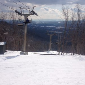 Photo of Mont Tremblant in Quebec (Photo by Emily Sassano, Ski and Snowboard Club Member)