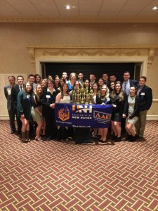 28 students traveled to the 76th annual National Conference held in Nashville March 21 - 28 (Photo provided by American Criminal Justice Association)