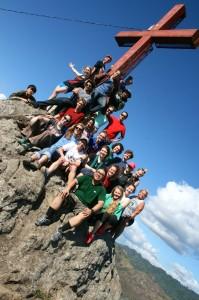 Volunteers in Nicaragua (Photo provided by Alyssa MacKinnon)