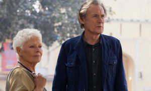 Judi Dench and Bill Nighy in The Second Best Exotic Marigold Hotel (AP photo)