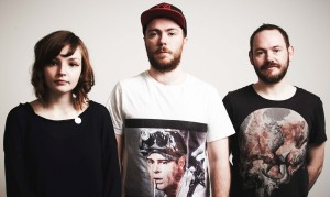 Lauren Mayberry, Martin Doherty and Iain Cook make up CHVRCHES (Photo obtained via Facebook)