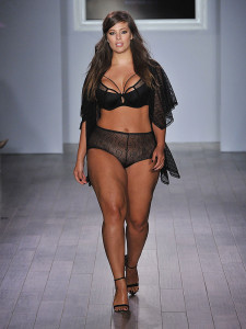 """AG Lingerie """"Black Orchid"""" Collection showcases plus-sized fashion (Photo obtained via New York Fashion Week live website)"""