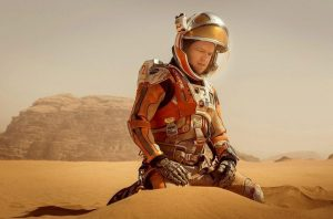 Matt Damon in a scene from The Martian (AP photo)