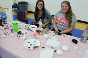 The Rotaract Club at BSU's Save- a- Breast event