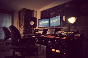 Resonant Studio is owned and operated by Brandon Olsen and Spencer Duffany (Photo provided by Kate Lizote)
