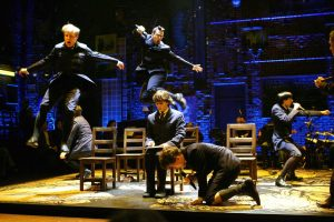 A scene Deaf West Theater's revival Spring Awakening (LA Times photo)