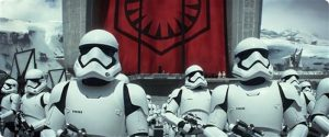 A clip from the Star Wars: The Force Awakens trailer (AP photo)