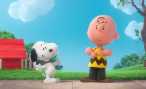 A still from The Peanuts Movie, featuring Snoopy and Charlie Brown (AP photo)