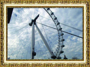 "Samantha Higgins, Senior The London Eye London, England March 2014 ""Seeing the London Eye was a dream come true."""