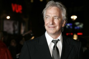 Iconic actor Alan Rickman passed on Jan. 14  (AP photo)