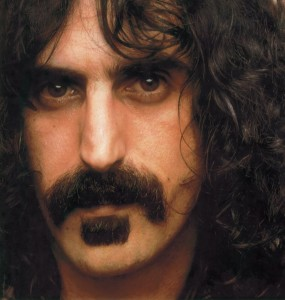 Frank Zappa is featured in Michael's humourous playlist of the week (Photo obtained via Facebook)