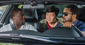 Kevin Hart, Ken Jeong and Ice Cube in a scene from Ride Along 2 (AP photo)