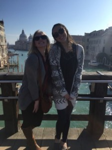Deanna and Anelia in Venice (photo provided by Anelia Marston)