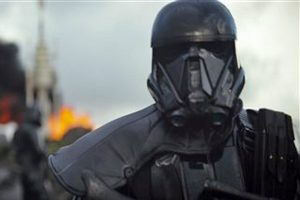 A scene for the Rogue One trailer (AP photo)